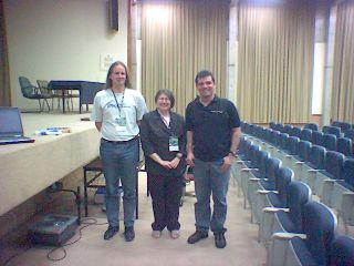 Peter, Radia and me at SSI2005