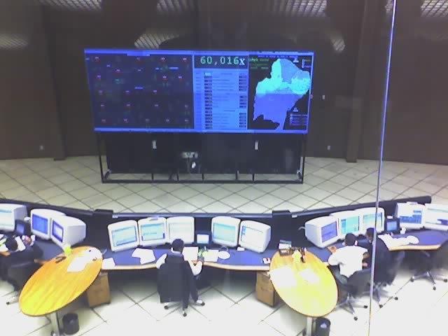 Figura do Sistema de Monitoração da Rede Elétrica Brasileira no  ONS